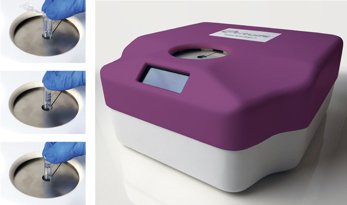 TubeMarker™, Printer for marking the side of 1ml, 1.5ml and 2ml tubes