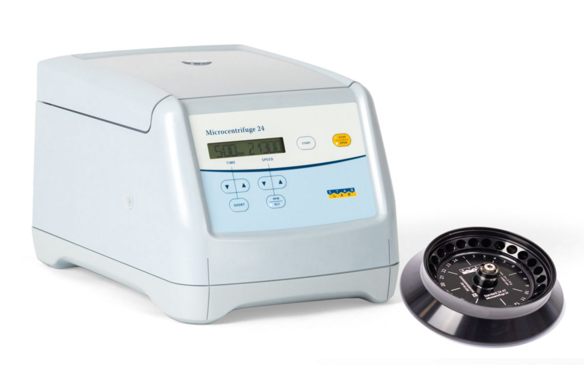 Microcentrifuge 24 (without rotor)